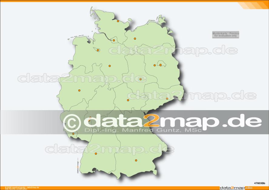 Deutschlandkarte Blanko Grundschultante Lapbook Deutschland